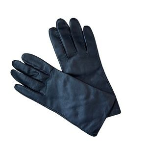 FOWNES Women's Leather Gloves Black
